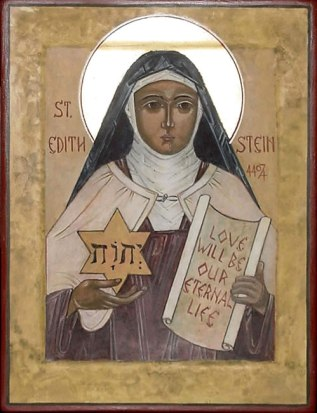 St. Edith Stein, icon